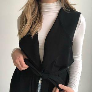 Aritzia Babaton Marcelo Black Vest